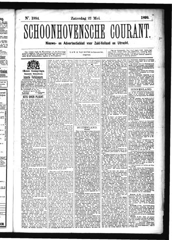 Schoonhovensche Courant 1899-05-27