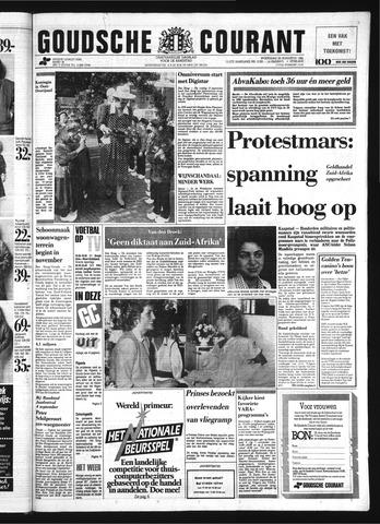 Goudsche Courant 1985-08-28