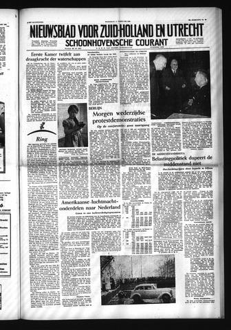 Schoonhovensche Courant 1954-02-17