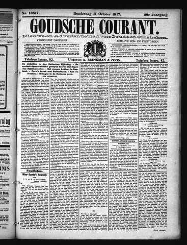 Goudsche Courant 1917-10-11