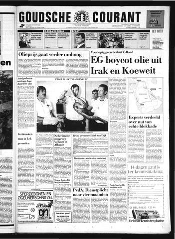Goudsche Courant 1990-08-06
