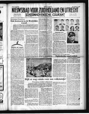 Schoonhovensche Courant 1952-03-28