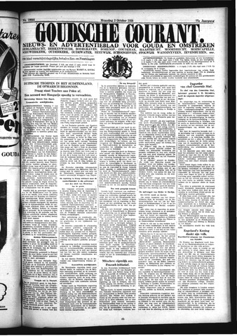 Goudsche Courant 1938-10-03