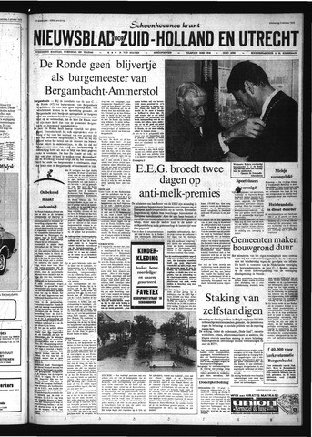 Schoonhovensche Courant 1972-10-04