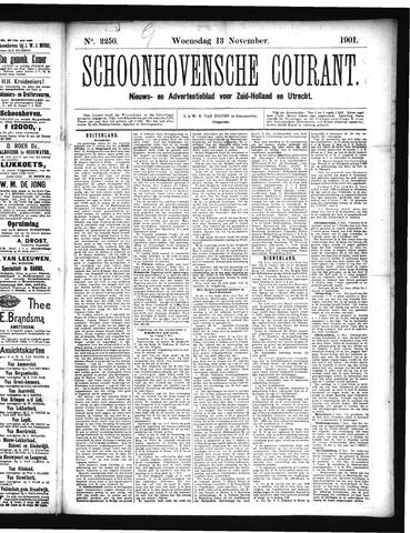 Schoonhovensche Courant 1901-11-13