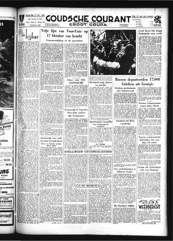 Goudsche Courant 1949-10-13