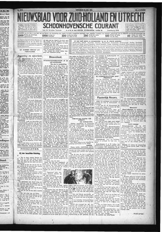 Schoonhovensche Courant 1931-07-22