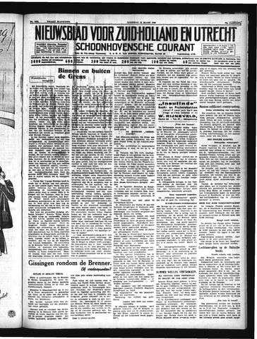 Schoonhovensche Courant 1940-03-20