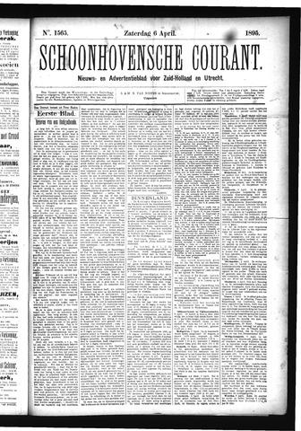 Schoonhovensche Courant 1895-04-06