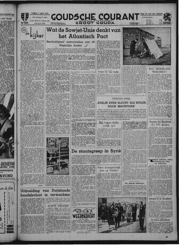 Goudsche Courant 1949-04-01