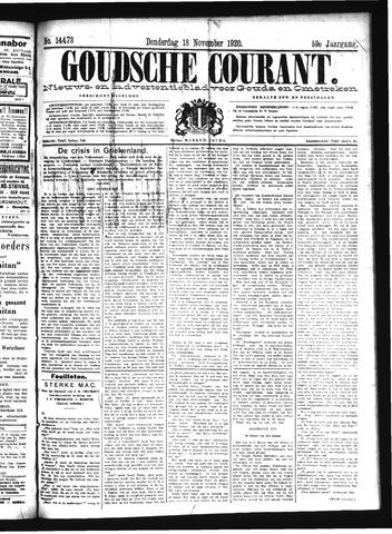 Goudsche Courant 1920-11-18