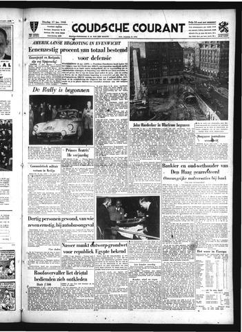Goudsche Courant 1956-01-17