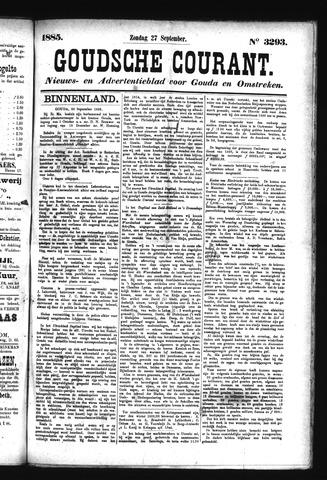 Goudsche Courant 1885-09-27