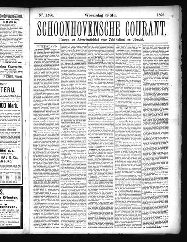 Schoonhovensche Courant 1895-05-29