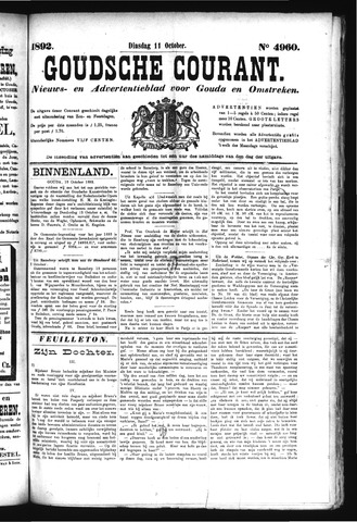 Goudsche Courant 1892-10-11