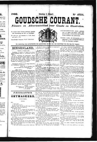 Goudsche Courant 1892-01-05