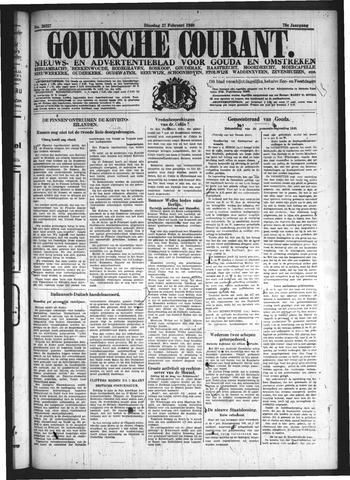 Goudsche Courant 1940-02-27