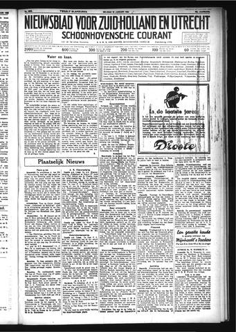 Schoonhovensche Courant 1934-01-19