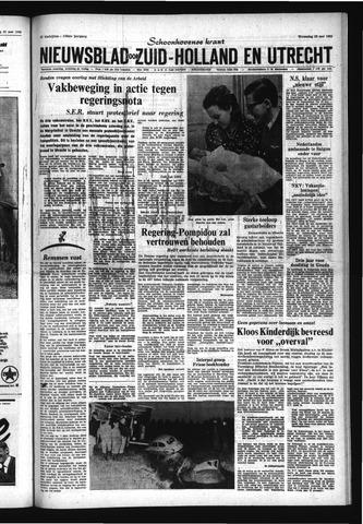 Schoonhovensche Courant 1968-05-22