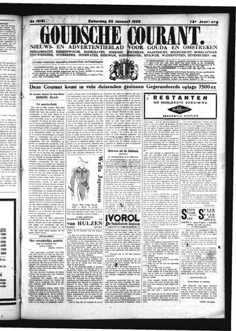 Goudsche Courant 1936-01-25