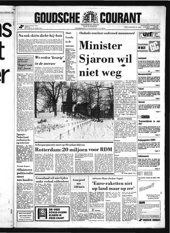 Goudsche Courant 1983-02-09