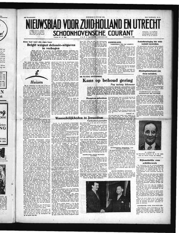 Schoonhovensche Courant 1952-01-09