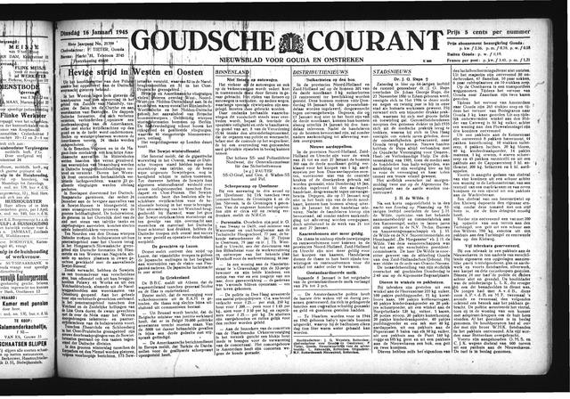 Goudsche Courant 1945-01-16
