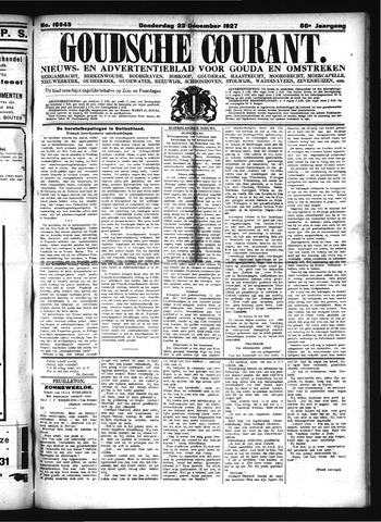 Goudsche Courant 1927-12-22