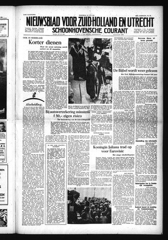 Schoonhovensche Courant 1954-06-16