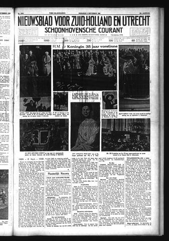 Schoonhovensche Courant 1933-09-06