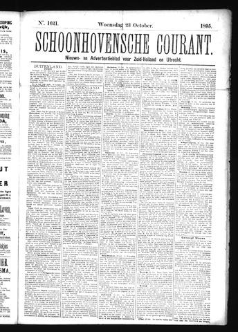 Schoonhovensche Courant 1895-10-23