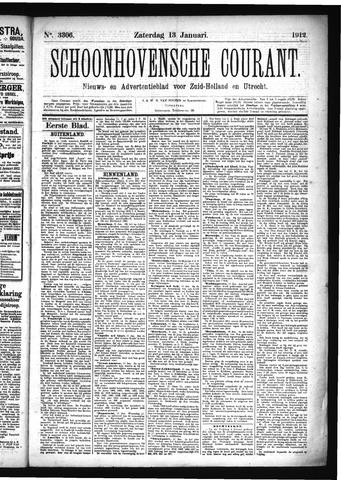 Schoonhovensche Courant 1912-01-13