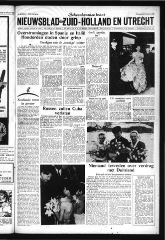 Schoonhovensche Courant 1963-02-20