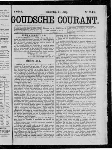 Goudsche Courant 1864-07-21
