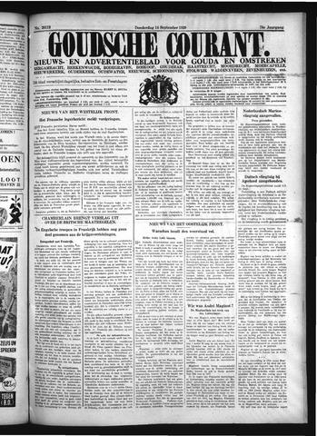 Goudsche Courant 1939-09-14