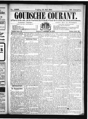 Goudsche Courant 1911-07-14