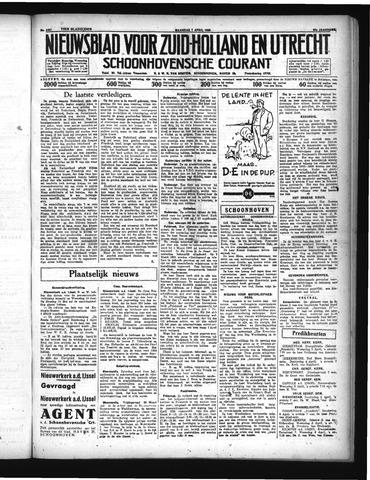 Schoonhovensche Courant 1935-04-01