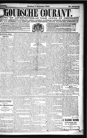 Goudsche Courant 1922-12-05