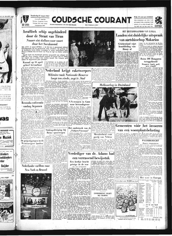 Goudsche Courant 1957-03-21