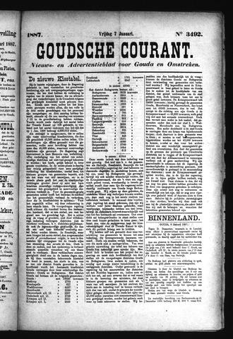 Goudsche Courant 1887-01-07