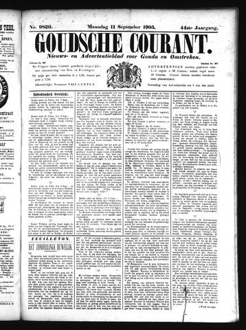 Goudsche Courant 1905-09-11