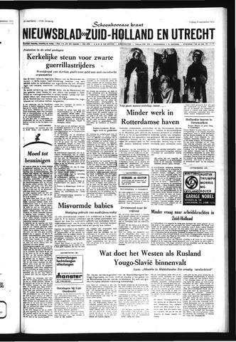 Schoonhovensche Courant 1971-09-10