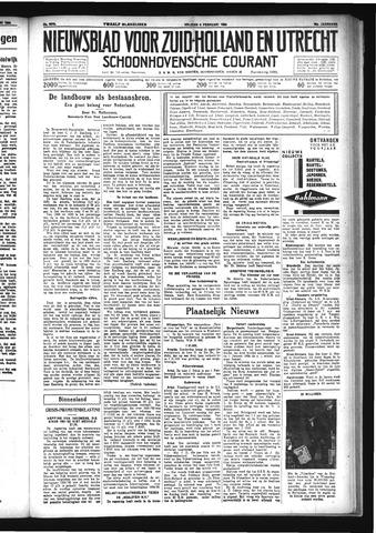 Schoonhovensche Courant 1934-02-09