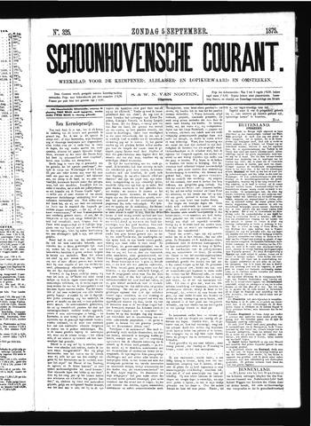 Schoonhovensche Courant 1875-09-05