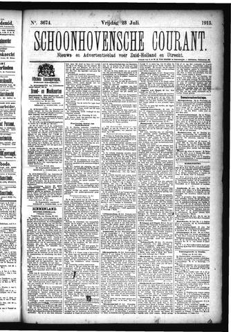 Schoonhovensche Courant 1915-07-23