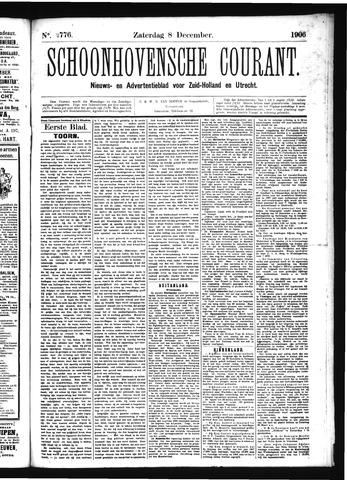 Schoonhovensche Courant 1906-12-08
