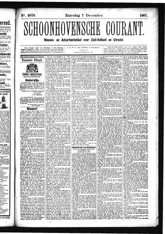 Schoonhovensche Courant 1907-12-07