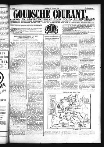 Goudsche Courant 1939-01-17