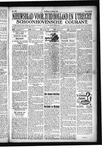 Schoonhovensche Courant 1928-10-17