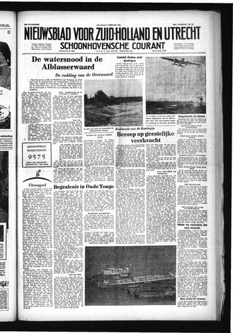 Schoonhovensche Courant 1953-02-09